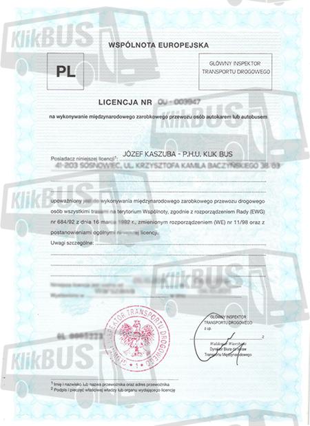 License 1
