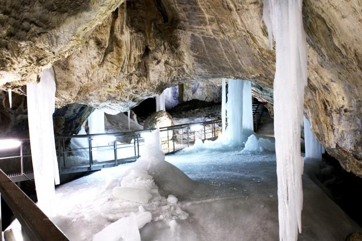 Wycieczka autokarem do jaskini lodowej