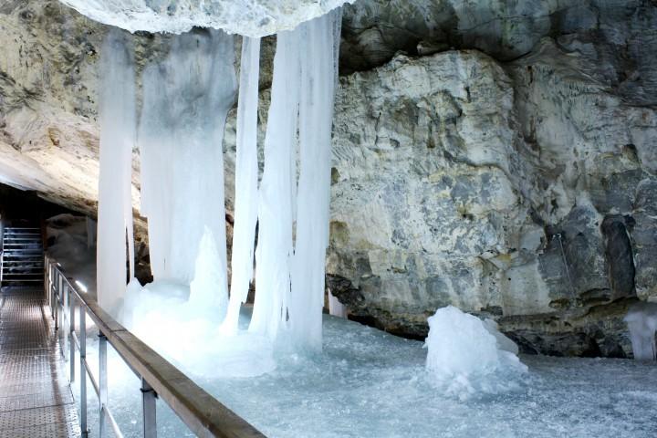 Demianowska Jaskinia Lodowa - Słowacja
