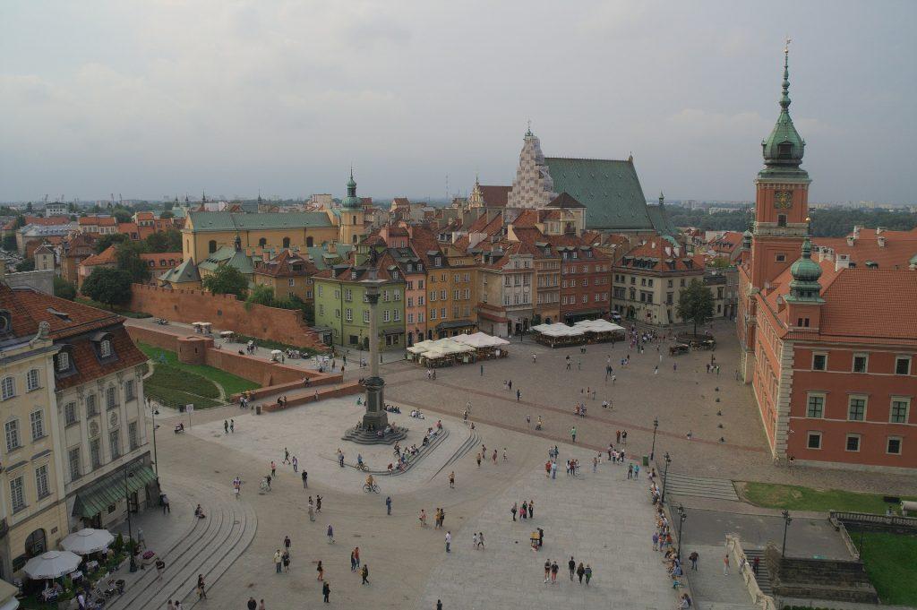 Przewóz osób do Warszawy